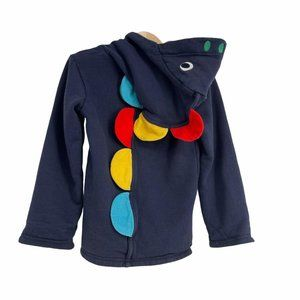 Frugi dino spikes rainbow jacket 4-5 years